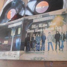 Discos de vinilo: MANASSAS. LP. STEPHEN STILLS FOLK PSYCH MADE IN SPAIN. 1972. Lote 50261999