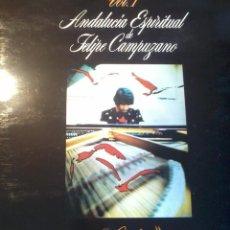 Discos de vinilo: DISCO DE VINILO. ANDALUCIA ESPIRITUAL DE FELIPE CAMPUZANO. CADIZ. VOL. 1. C4V. Lote 50263137