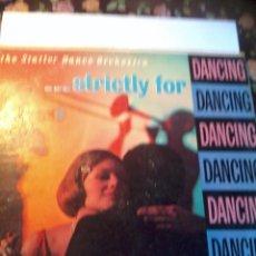 Discos de vinilo: DISCO DE VINILO. THE STATLER DANCE ORCHESTRA. STRICTLY FOR DANCING. MADE IN USA. C3V. Lote 50263302