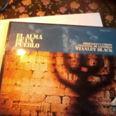 Discos de vinilo: . EL ALMA DE UN PUEBLO. ORQUESTA Y COROS FESTIVAL DE LONDRES. STANLEY BLACK. C2V. Lote 50263362