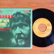 Discos de vinilo: SINGLE VINILO 'NILSSON - JUMP INTO THE FIRE'.. Lote 50267123