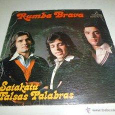 Discos de vinilo: RUMBA BRAVA - SATAKATU- FALSAS PALABRAS MO 1522 1975. Lote 50267494