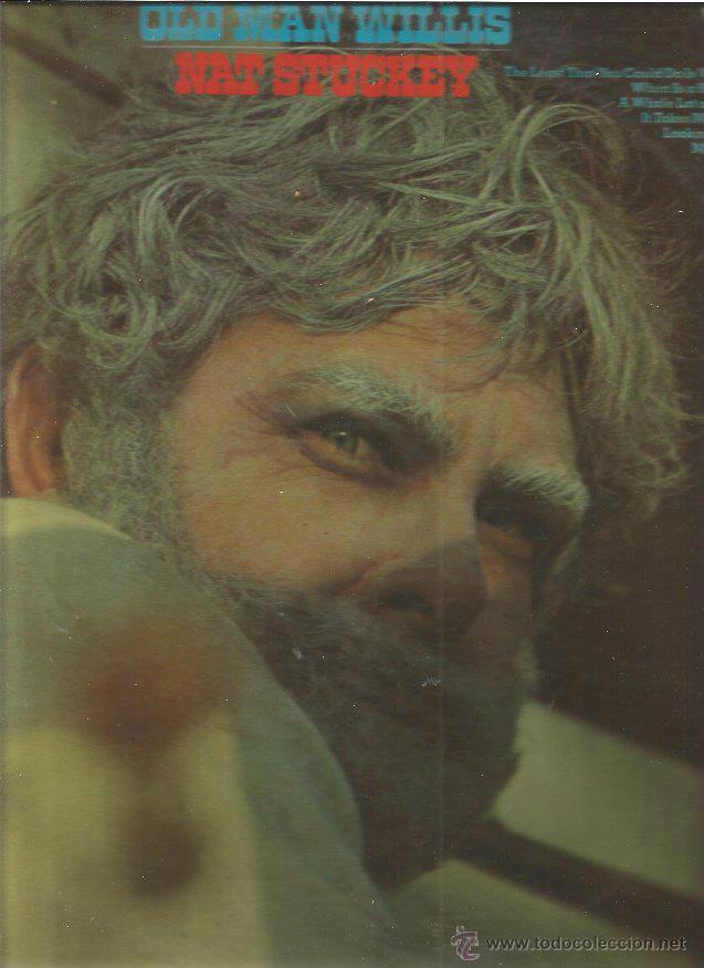 NAT STUCKEY OLD MAN (Música - Discos - LP Vinilo - Pop - Rock - Extranjero de los 70)