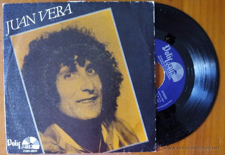 JUAN VERA, MADRE +3 (POLIFONIA 1983) SINGLE EP - RUMBA (Música - Discos de Vinilo - EPs - Flamenco, Canción española y Cuplé)