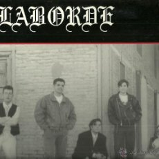 Discos de vinilo: LABORDE LP PORTADA DOBLE SELLO CANOA AÑO 1991 EDITADO EN ESPAÑA . Lote 50273258