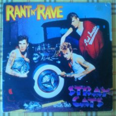 Discos de vinilo: STRAY CATS RANT N'RAVE LP 1983 ROCK AND ROLL ROCKABILLY BRIAN SETZER. Lote 50273738