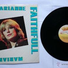 Discos de vinilo: MARIANNE FAITHFULL - MARIANNE FAITHFULL (ARMANDO CURCIO EDITORE) (RECOP. EDICION ITALIANA 1982). Lote 50273755