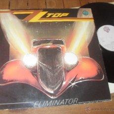 Discos de vinilo: ZZ TOP LP. ELIMINATOR. MADE IN SPAIN. 1983.. Lote 50279432