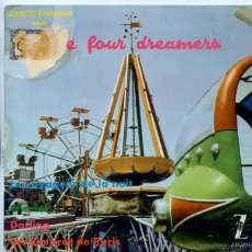 Discos de vinilo: THE FOUR DREAMERS / CHARIOT / DARLING + 2 (EP 1962). Lote 50290825