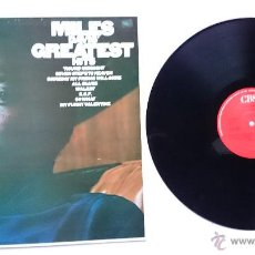 Discos de vinilo: MILES DAVIS - MILES DAVIS' GREATEST HITS (1969) (REEDICION 1985). Lote 50293314