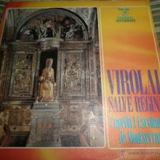 Discos de vinilo: CAPELLA I ESCOLANIA DE MONTSERRAT - VIROLAI SINGLE - ORIGINAL ESPAÑOL - COLUMBIA 1970 - ESTEREO -. Lote 50297095