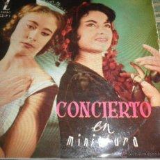 Discos de vinilo: CONCIERTO EN MINIATURA EP - ORIGINAL ESPAÑOL - ZAFIRO RECORDS 1959 -33 R.P.M - SINFONICA DE PARIS -. Lote 50298836
