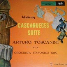 Discos de vinilo: TCHAIKOVSKY - CASCANUECES SUITE DOBLE EP - ORIGINAL ESPAÑOL - RCA REORDS 1957 - GATEFOLD COVER -. Lote 50299066