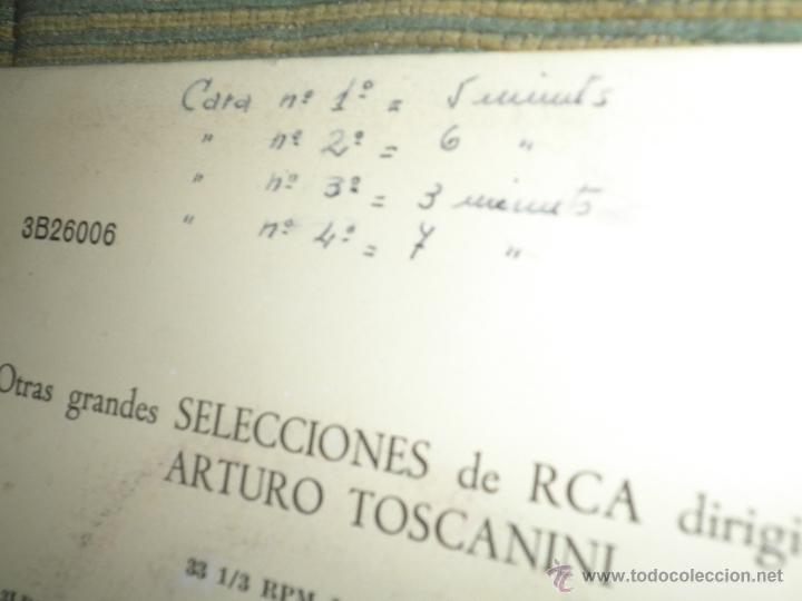 Discos de vinilo: TCHAIKOVSKY - CASCANUECES SUITE DOBLE EP - ORIGINAL ESPAÑOL - RCA REORDS 1957 - GATEFOLD COVER - - Foto 3 - 50299066