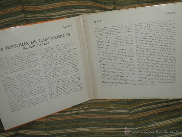 Discos de vinilo: TCHAIKOVSKY - CASCANUECES SUITE DOBLE EP - ORIGINAL ESPAÑOL - RCA REORDS 1957 - GATEFOLD COVER - - Foto 4 - 50299066