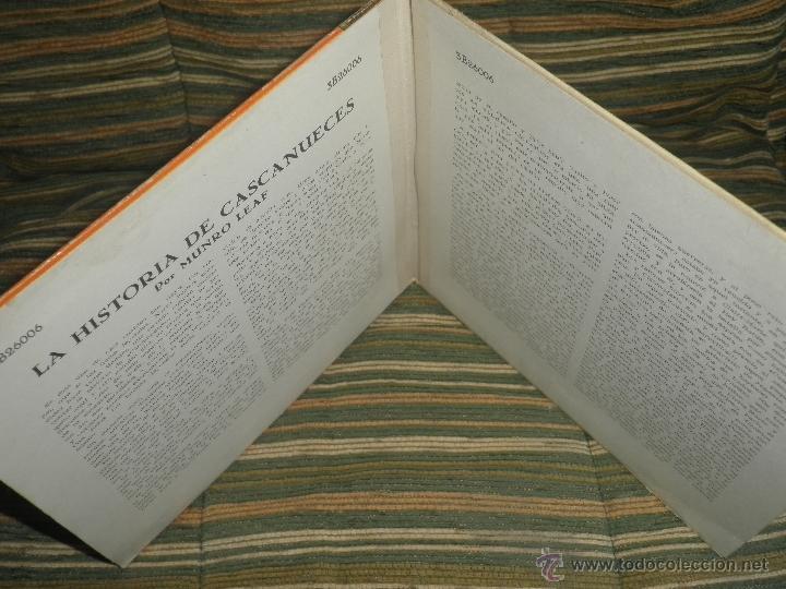 Discos de vinilo: TCHAIKOVSKY - CASCANUECES SUITE DOBLE EP - ORIGINAL ESPAÑOL - RCA REORDS 1957 - GATEFOLD COVER - - Foto 5 - 50299066