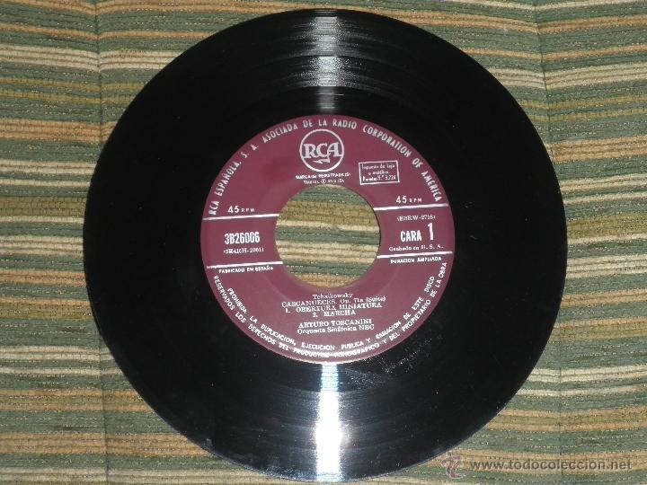 Discos de vinilo: TCHAIKOVSKY - CASCANUECES SUITE DOBLE EP - ORIGINAL ESPAÑOL - RCA REORDS 1957 - GATEFOLD COVER - - Foto 7 - 50299066