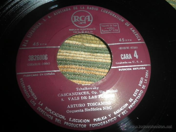 Discos de vinilo: TCHAIKOVSKY - CASCANUECES SUITE DOBLE EP - ORIGINAL ESPAÑOL - RCA REORDS 1957 - GATEFOLD COVER - - Foto 9 - 50299066