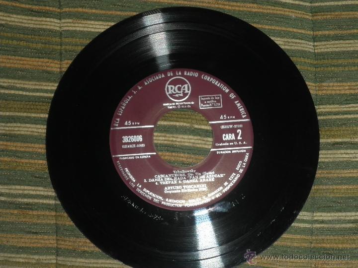 Discos de vinilo: TCHAIKOVSKY - CASCANUECES SUITE DOBLE EP - ORIGINAL ESPAÑOL - RCA REORDS 1957 - GATEFOLD COVER - - Foto 10 - 50299066
