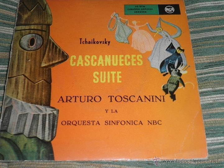 Discos de vinilo: TCHAIKOVSKY - CASCANUECES SUITE DOBLE EP - ORIGINAL ESPAÑOL - RCA REORDS 1957 - GATEFOLD COVER - - Foto 14 - 50299066