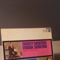 Discos de vinilo: NANCY SINATRA FRANK SINATRA SOMETHING STUPID +3 EP. Lote 50300236