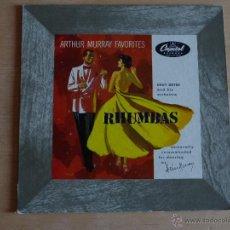 Discos de vinilo: ARTHUR MURRAY FAVORITES RHUMBAS. CHUY REYES (ANTIGUO DISCO 33 1/3 RPM (25 CM) AÑOS 40-50) DIFÍCIL. Lote 50300849