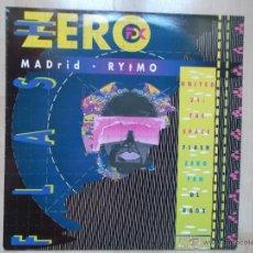 Discos de vinilo: FLASH ZERO FAN DL KAOX - MADRID RYTMO ED LIMITADA IMPACT RECORDS 1990 NUEVO. Lote 50300915