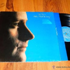 Discos de vinilo: PHIL COLLINS HELLO I MUST BE GOING ! LP VINILO DESPLEGABLE WEA SPAIN 1982. Lote 50302648