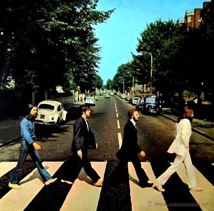 THE BEATLES - ABBEY ROAD (PSICHEDELIC) 1ª EDICION UK 1969 CON ERRATA EN PORTADA Y LABEL, MUY RARO... (Música - Discos - LP Vinilo - Pop - Rock Extranjero de los 50 y 60)
