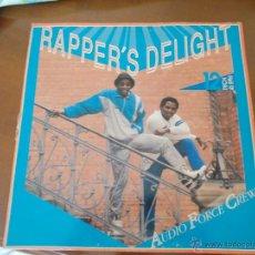 Discos de vinilo: AUDIO FORCE CREW RAPPER´S DELIGHT MAXI 12. Lote 50309735