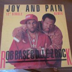 Discos de vinilo: ROB BASE & DJ. E-Z ROCK MAXI 12. Lote 50309772