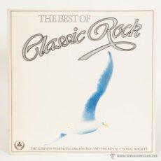 Discos de vinilo: THE BEST OF CLASSIC ROCK. Lote 50311648