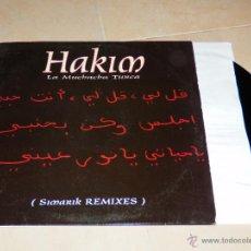 Discos de vinilo: HAKIM LA MUCHACHA TURCA SIMARIK REMIXES MAXI SINGLE VINILO LEVEL RECORDS SONY MUSIC 2001 V5. Lote 50312057