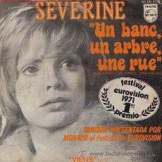 Discos de vinil: SEVERINE - EUROVISIÓN 1971 - MÓNACO. Lote 50313403