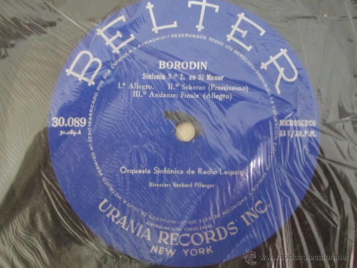 Discos de vinilo: BORODIN SINFONIA Nº2 DANZAS POLOVTSIANAS YDANZAS DE LAS DONCELLAS. CHOSTAKOVITCH SUITE DE BALLET Nº1 - Foto 9 - 50319437