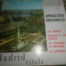 Discos de vinilo: ANTONIO APRUZZESE - LOS NARDOS EP - ORIGINAL ESPAÑOL - RCA VICOTR RECORDS 1963 MONOAURAL. Lote 50321289