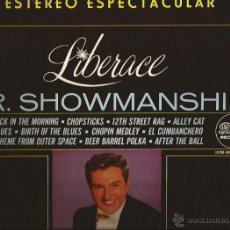 Discos de vinilo: LP-LIBERACE MR SHOWMANSHIP DOT 6004 SPAIN 1965 STEREO. Lote 50321377