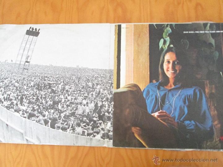 Discos de vinilo: JOAN BAEZ ( 1960/70). DIEZ AÑOS DE EXITO. DOS DISCOS. HISPA VOX. - Foto 2 - 50328233