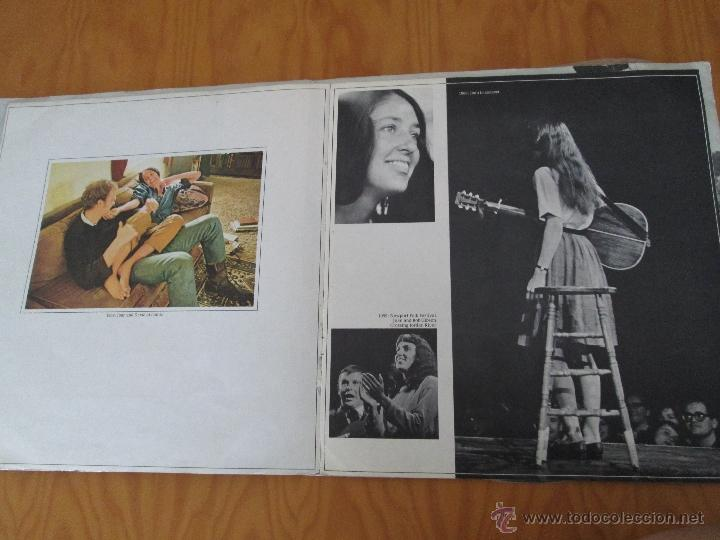 Discos de vinilo: JOAN BAEZ ( 1960/70). DIEZ AÑOS DE EXITO. DOS DISCOS. HISPA VOX. - Foto 3 - 50328233