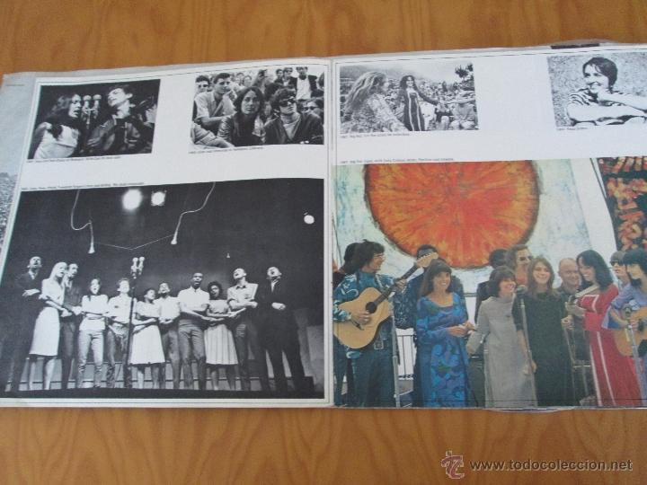 Discos de vinilo: JOAN BAEZ ( 1960/70). DIEZ AÑOS DE EXITO. DOS DISCOS. HISPA VOX. - Foto 4 - 50328233