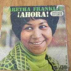 Discos de vinilo: ARETHA FRANKLIN. !AHORA! HISPAVOX, S.A. ATLANTIC HAT 421-18. Lote 50328460