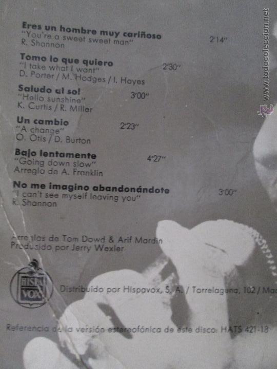 Discos de vinilo: ARETHA FRANKLIN. !AHORA! HISPAVOX, S.A. ATLANTIC HAT 421-18 - Foto 4 - 50328460