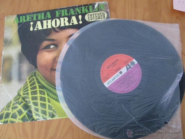 Discos de vinilo: ARETHA FRANKLIN. !AHORA! HISPAVOX, S.A. ATLANTIC HAT 421-18 - Foto 7 - 50328460