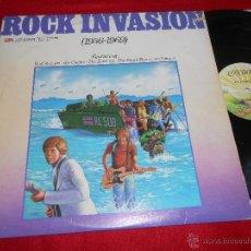 Discos de vinilo: ROCK INVASION 1956-1969 FORTUNES+LOS BRAVOS+SMALL FACES+ZOMBIES+MARMALADE LP 1978 UK ENGLAND. Lote 50329679