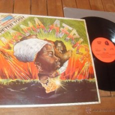 Discos de vinilo: PETER TOSH LP. MAMA AFRICA. MADE IN SPAIN. 1983.. Lote 50331498