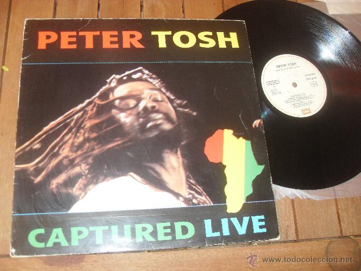 peter tosh lp. captured live. made in spain. 19 - Buy Vinyl ...