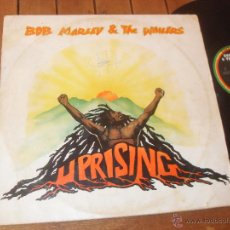 Discos de vinilo: BOB MARLEY & THE WAILERS. LP. UPRISING. MADE IN SPAIN. 1980.. Lote 50332430