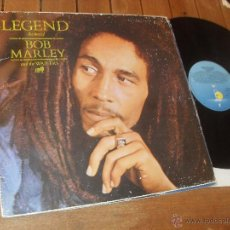 Discos de vinil: BOB MARLEY & THE WAILERS. LP. LEGEND. THE BEST OF... . MADE IN SPAIN. 1984.. Lote 232127265