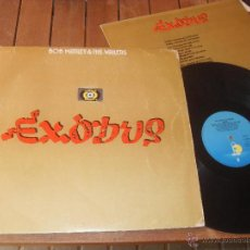 Discos de vinilo: BOB MARLEY & THE WAILERS. LP. EXODUS . MADE IN SPAIN. 1977.. Lote 50333122