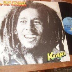 Discos de vinilo: BOB MARLEY & THE WAILERS. LP. KAYA. MADE IN SPAIN. 1978.. Lote 50333206